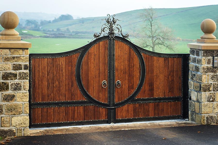 Home Design Gate Ideas: Zeus Hardwood Gates