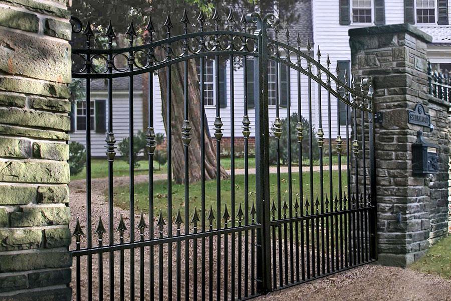 Hamilton Wrought Iron Gates Driveway Gate Estate Gates Uk
