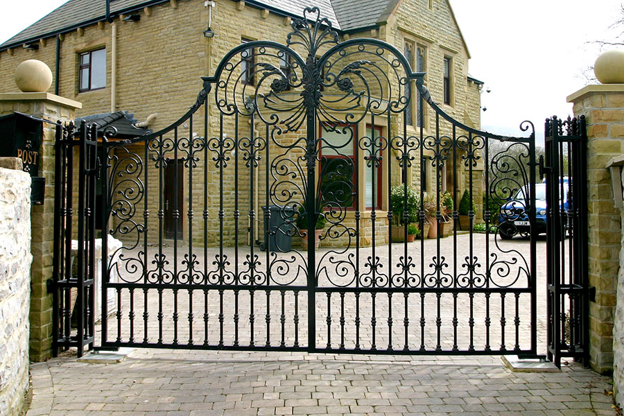 Blenheim Wrought Iron Gates Driveway Gates Estate Gate