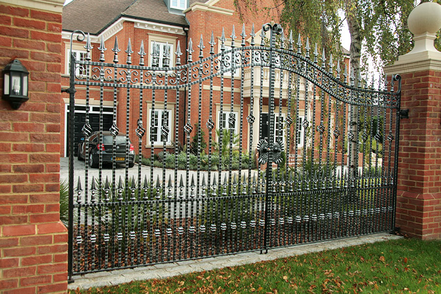 Cranleigh Wrought Iron Gates Estate Gates North Valley