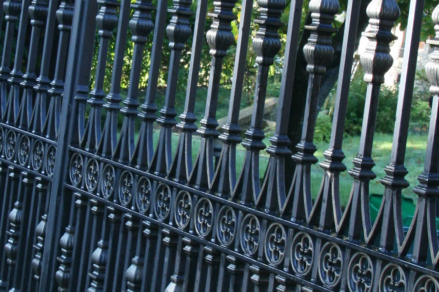 strong garden gate