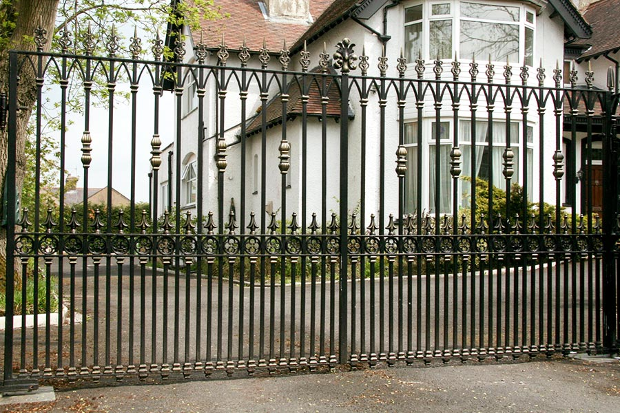 Langley Wrought Iron Gates Estate Gate North Valley Forge