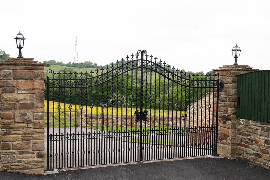 Kingsbury Wrought Iron Gates Driveway Gates Estate Gate