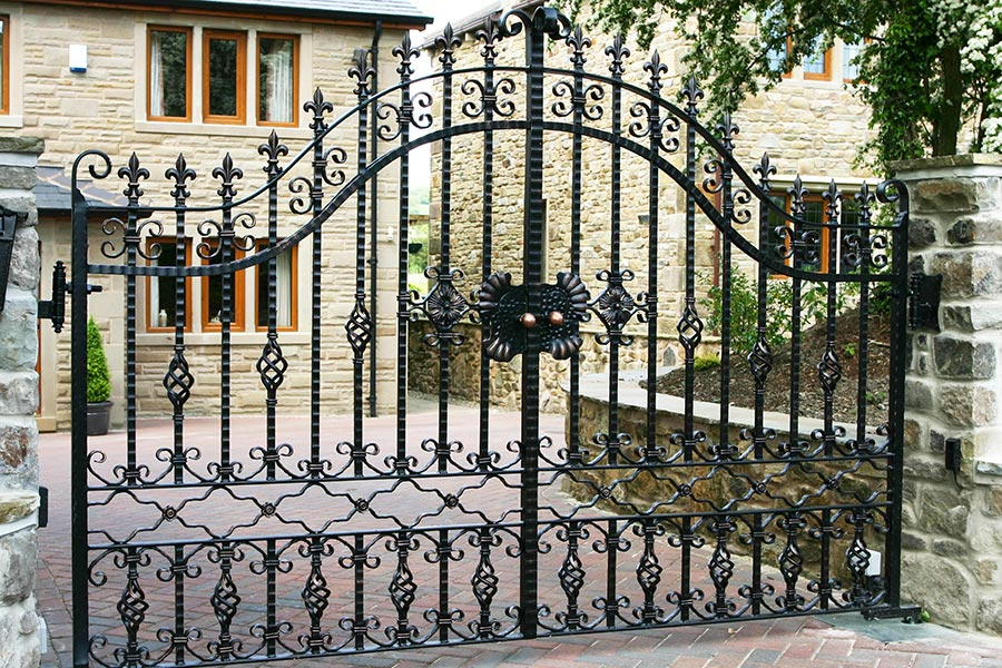 Tavistock Wrought Iron Gates Estate Gate Driveway Gate