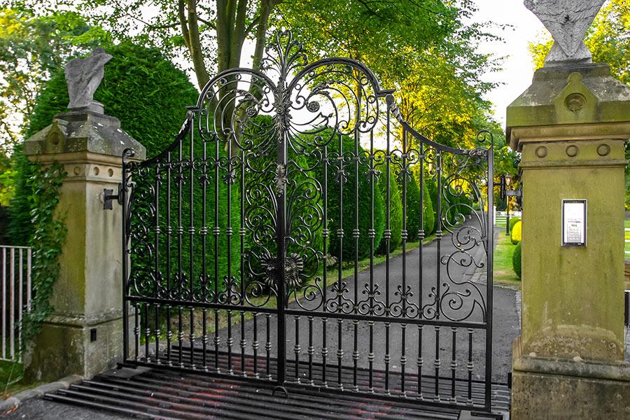 Blenheim Wrought Iron Gates Driveway Gates Estate Gate