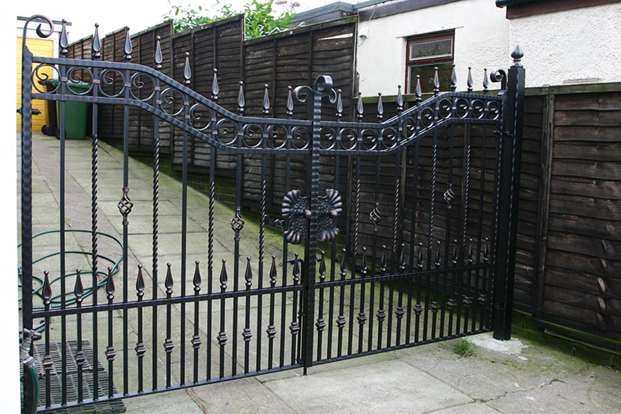 garage entrance gate