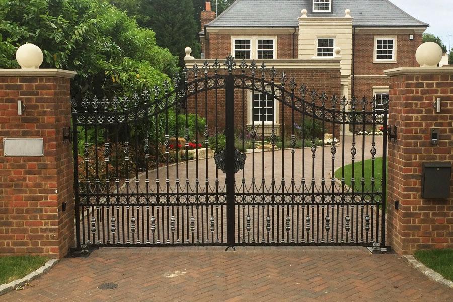 Hambledon Wrought Iron Gates Driveway Gate Estate Gates