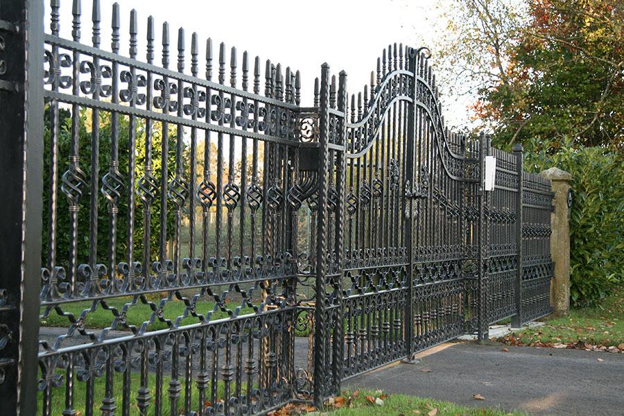 Tavistock Wrought Iron Gates Estate Gate Driveway Gate