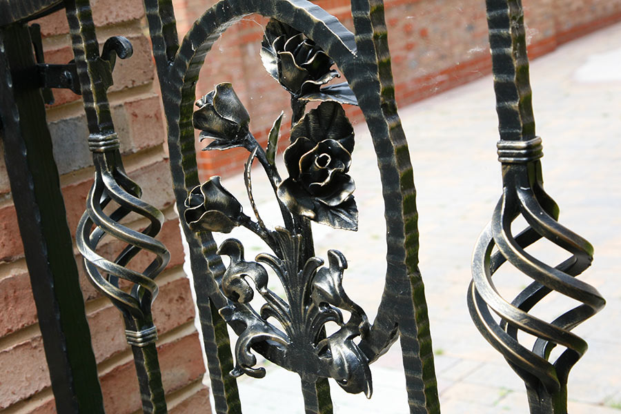 Huntingdon Wrought Iron Driveway Gates Estate Gate
