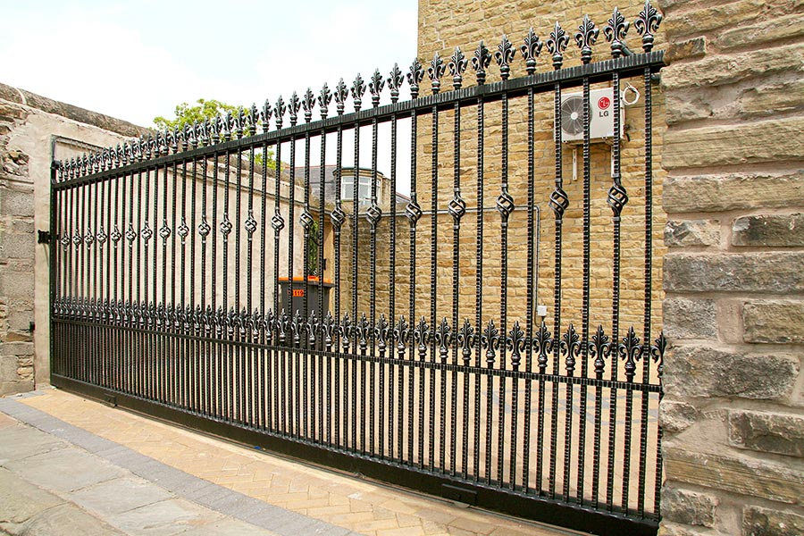 Kingsbury Wrought Iron Gates Driveway Gates Estate Gate
