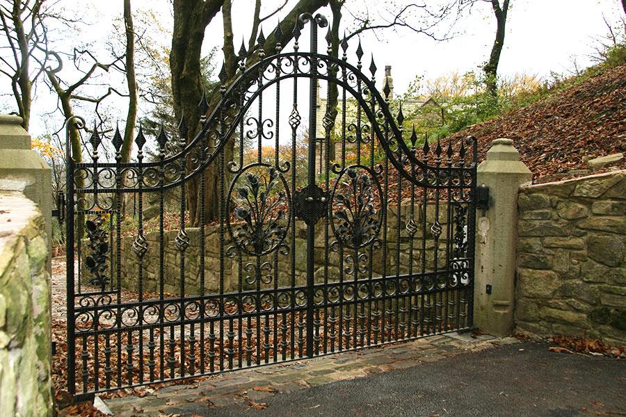 Somerton wrought iron gates driveway gate estate