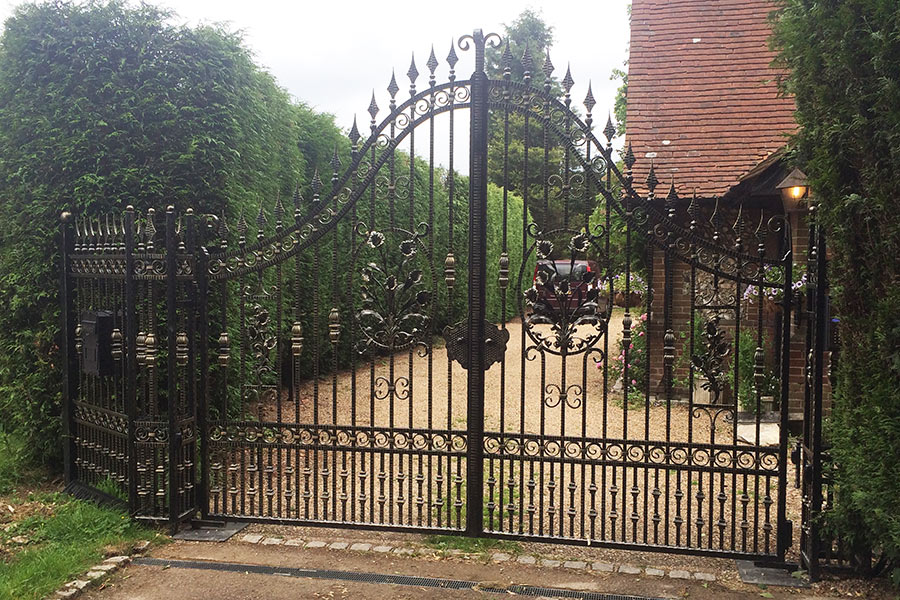 Somerton Wrought Iron Gates Driveway Gate Estate Gates