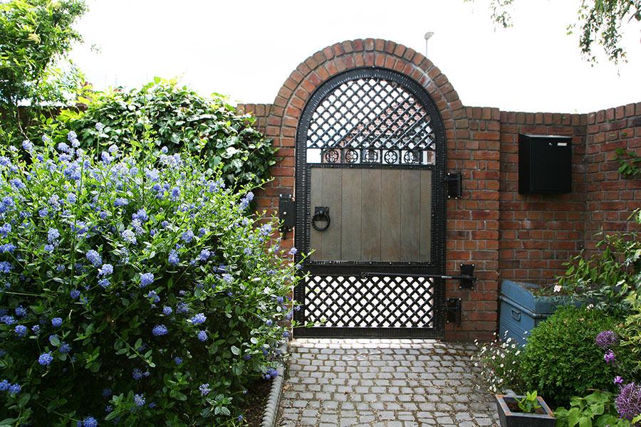timber garden gate