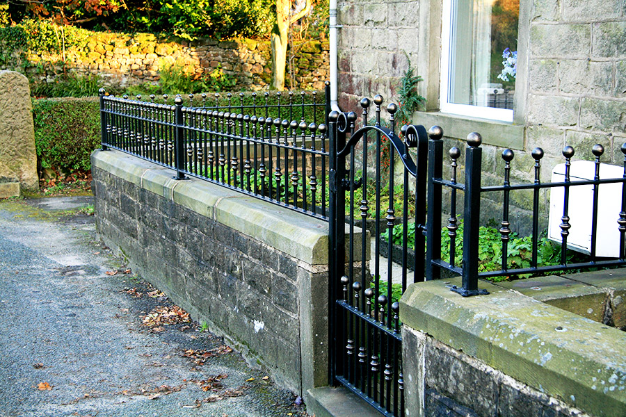 Wrought Iron Wall Top Amp Garden Railings North Valley Forge