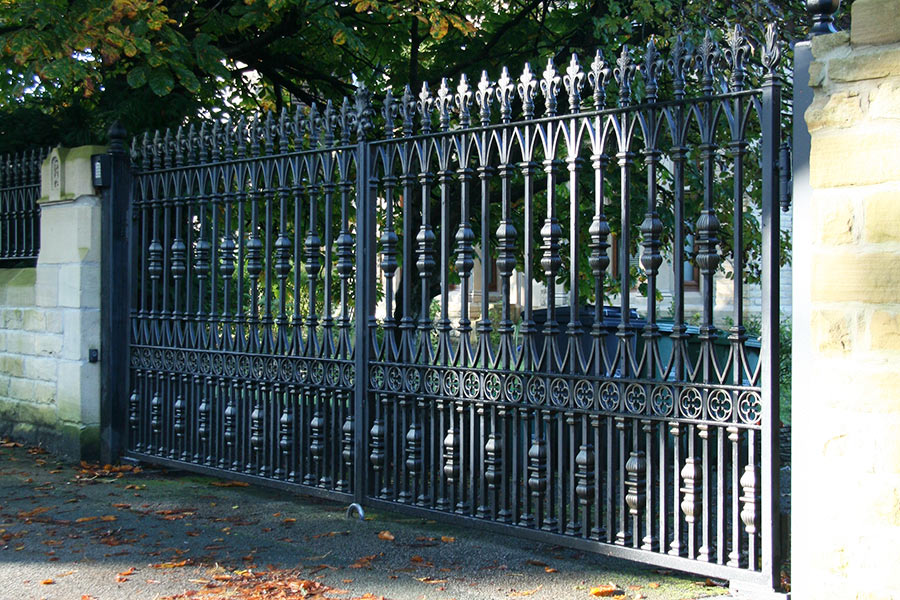 Radleigh Wrought Iron Gates Driveway Gate Estate Gates