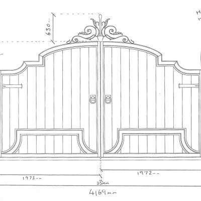 Apollo-Gates-&-Columns-Drawing