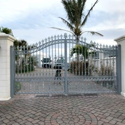Hambledon gate in Bermuda | North Valley Forge.