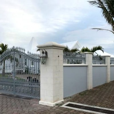 Hambledon gates and railings in Bermuda 2 | North Valley Forge.