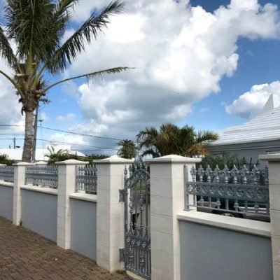 Hambledon gates and railings in Bermuda | North Valley Forge.