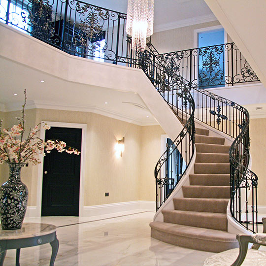 BALUSTRADES & STAIRCASES